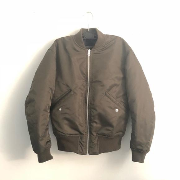 Uniqlo Jackets Coats Reversible Classic Ma1 Bomber Jacket Poshmark